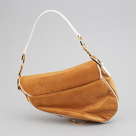 Christian dior, 'saddle bag'.
