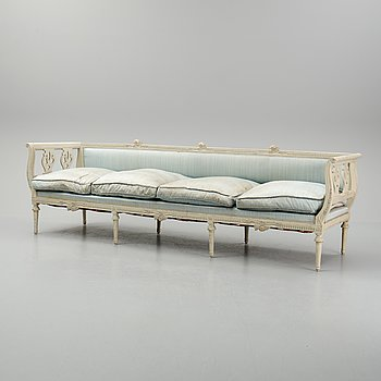 A circa 1800 gustavian sofa.
