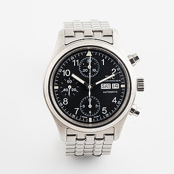 IWC, Schaffhausen, Pilot, Fliegerchronograph (T Swiss Made T), chronograph, wristwatch, 39 mm.