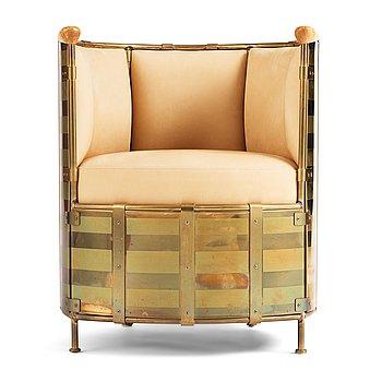 "38. Mats Theselius, an ""El Dorado"" lounge chair, ed. 153/360 Källemo Sweden post 2002."