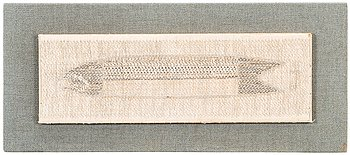 Dora Jung, a tapestry signed Dora Jung.