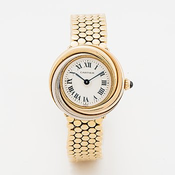 Cartier, Trinity, wristwatch, 27 mm.