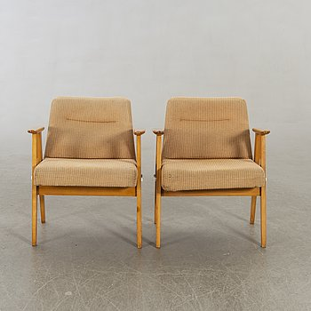 Armchairs 2 pcs Hungary 1960s.