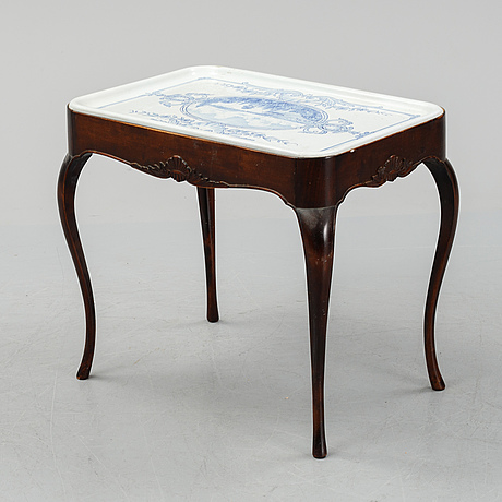 Teatable, signed john sjöstrand 1930.