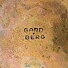 Bertel gardberg, a brass candleholder stamped gardberg.