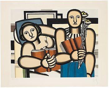 """765. Fernand Léger After, """"La lecture""""."""