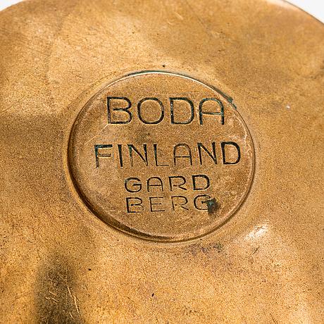 Bertel gardberg, six candleholders for boda finland.