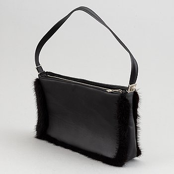 Gianni Versace, leather bag.