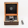 Chopard l.u.c pro one gmt, wristwatch, 42 mm.