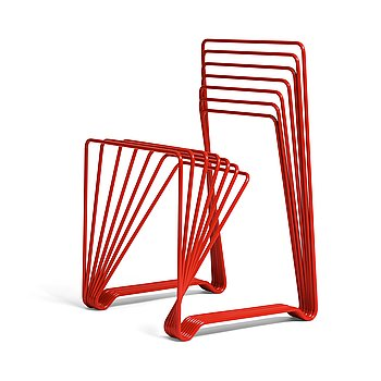 """43. Alexander Lervik, """"Red Chair"""", ed. 6/10, Gallery Pascale 2005."""