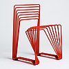 """Alexander lervik, a """"red chair"""", ed. 6/10, gallery pascale 2005."""