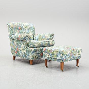 Josef Frank, a '568' armchair for Firma Svenskt Tenn.