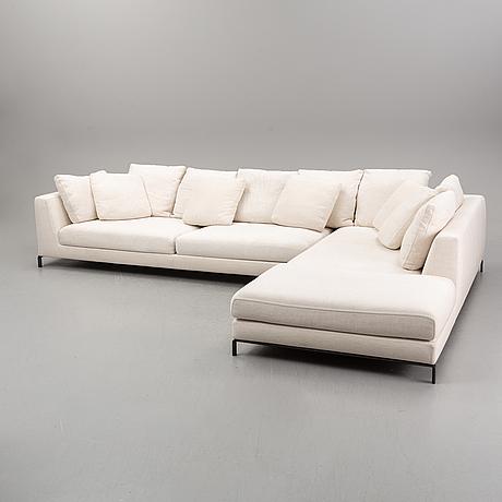 Antonio citterio, sofa 'ray' b&b italia.