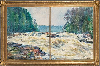 Mikko Oinonen, oil on canvas, signed and dated 1938.