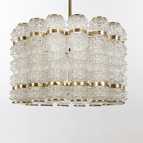 Chandelier, tyringe middle of 20th century.
