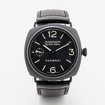 Panerai, Radiomir Black Seal Ceramic, wristwatch, 46 x 45 mm.