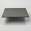 Poul kjaerholm, a pk61 table, fritz hansen, denmark, 2013.