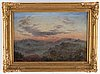 Unknown artist, 19th century, oil on canvas, inditinctly signed.