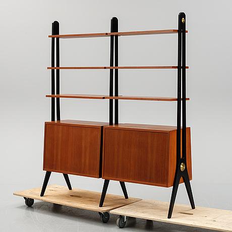 A 1950's - 60's teak bookcase.