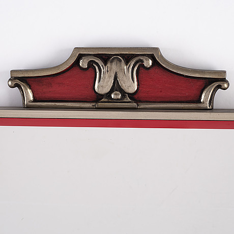 An art deco mirror, first half of the 20th century.