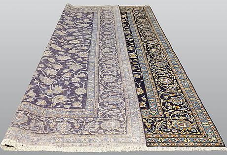 A carpet, kashan, ca 460 x 310 cm.