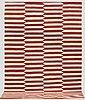 A carpet, flat weave,  slätväv, ca 290 x 205 cm.