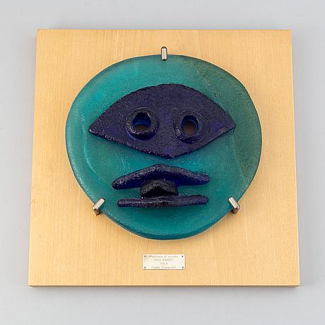 "Max ernst, ""maschera di uccello"", sculpture, egidio costantini, italy, designed 1964."