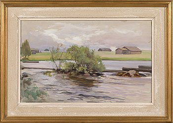 Eero Järnefelt, watercolor, signed and dated 1931.