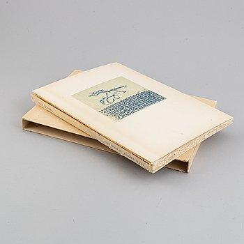 Max Ernst, book with colourlithograph, 1973, signed and numbered 21/80.
