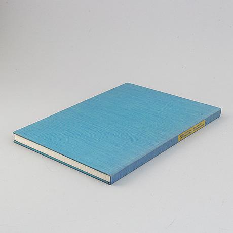 """Bok, med färglitografier av max ernst.  """"lewis carrol´s wunderhorn"""". 1970."""
