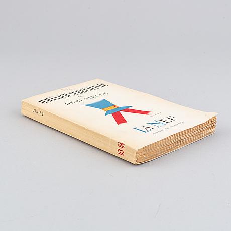 Book, andré breton & benjamin peret - almanach surréaliste du demi-siècle.