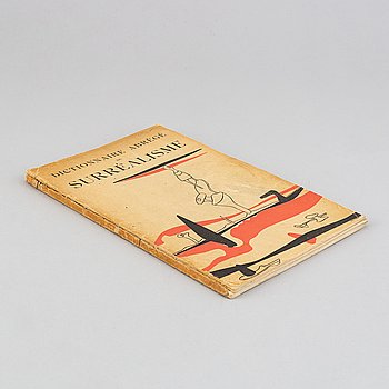 """BOOK, """"Dictionnaire Abrégé du Surréalisme"""", 1938."""