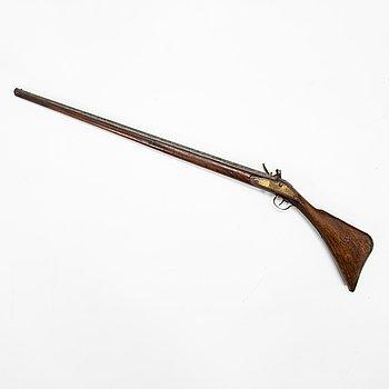 Flintlåsgevär, 1800-tal.