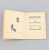 """Book, franz kafka, """"un divertissement"""", 1938."""