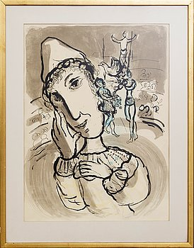 Marc Chagall, poster.