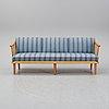 Carl malmsten, a 'visingsö' oak sofa.