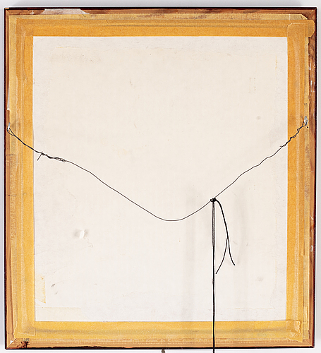 Gustaf adolf tenggren, mixed media on paper, signed.