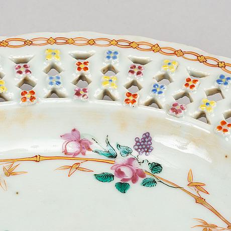 A famille rose dish, qing dynasty, qianlong (1736-95).