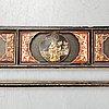 Dekordel/panel, trä. malaysia, omkring 1900.