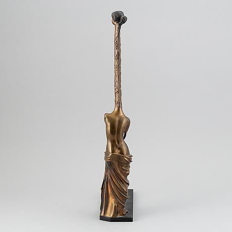 Salvador dalí, sculpture, bronze, numbered 1130/1500.