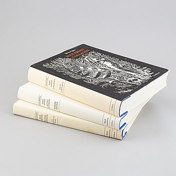 BOOKS, 3 volumes. Max Ernst/Werner Spies.