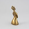 Max ernst, sculpture, bronze, signed 4/75.