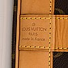 Louis vuitton, a monogram 'cruiser bag 45' bag.