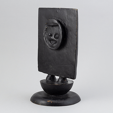 Max ernst, scuklpture, bronze, signed max ernst and numbered 6/175.