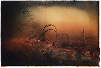 """276. Lars Lerin, From the series """"Neverland""""."""