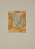 Max ernst, etching & aquatint in colours, 1970, signed 56/100.