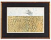 Max ernst, lithograph in colours, signed 73/99.