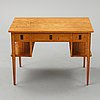 Alf wallander, attributed to. a birch desk, early 20th century.