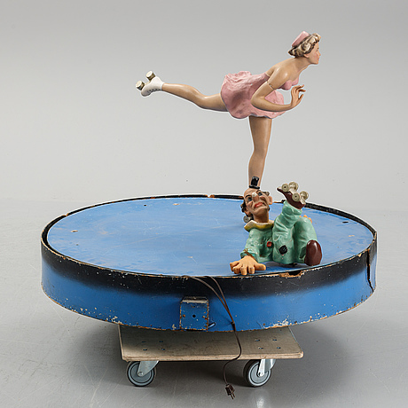 Mekaniska figurer, posa, tyskland, 1950-tal.