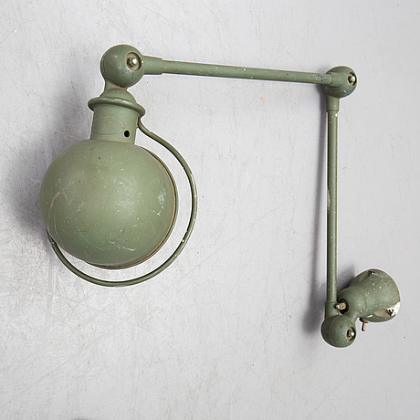An industrial lamp from jielde, france.